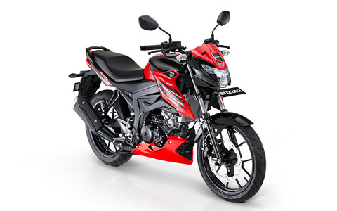 Suzuki-Bandit-Red